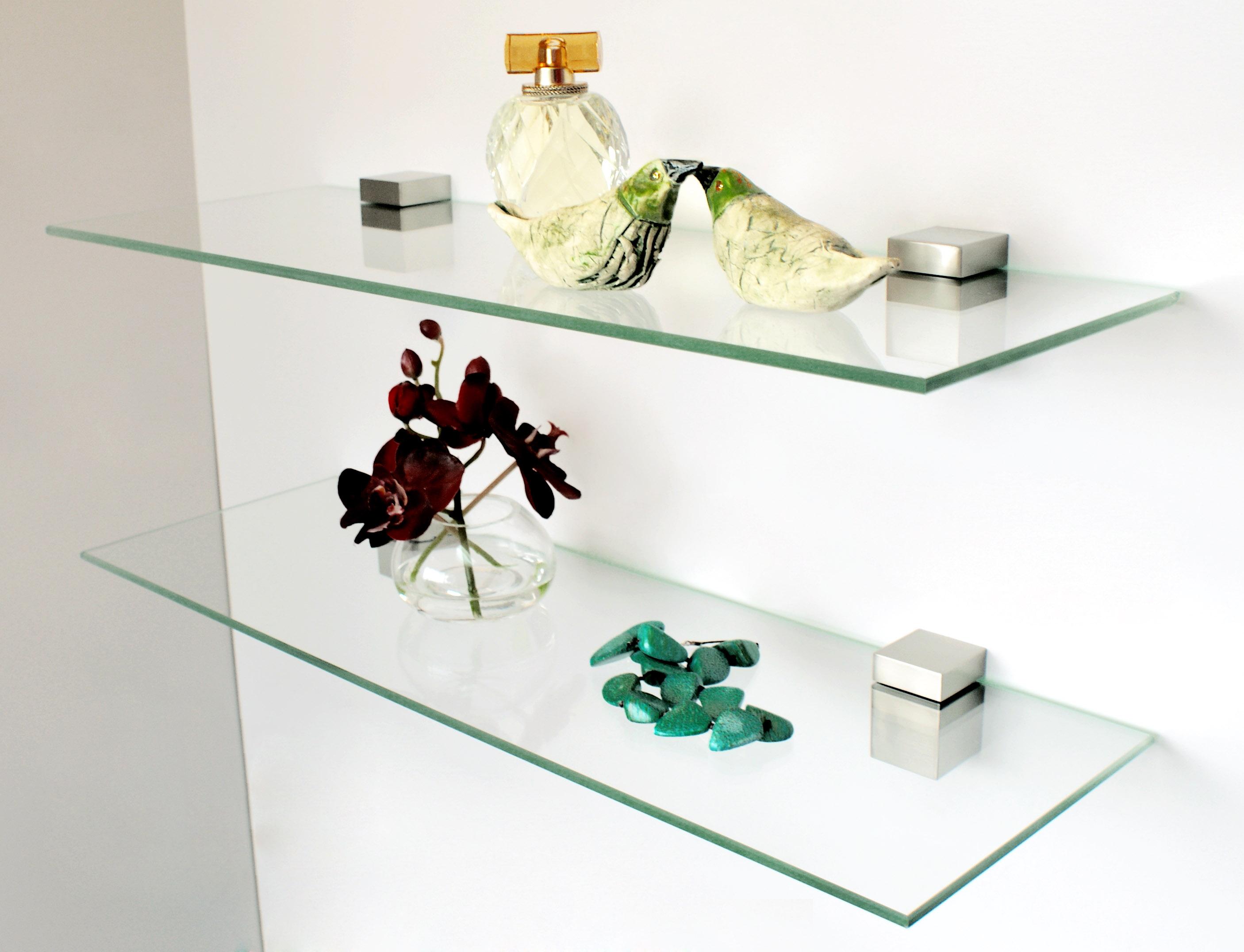 Как сделать стеклянную полочку